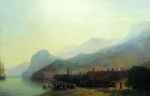 Ivan Konstantinovich Aivazovsky (1817 - 1900) Alushta Oil on canvas, 1878 61 x 91 cm (24.01